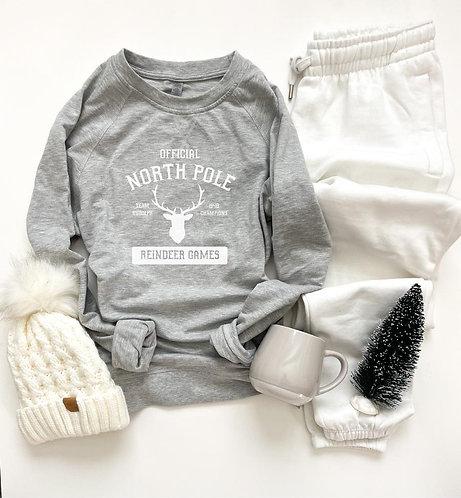 Northpole French Terry Raglan Sweatshirt