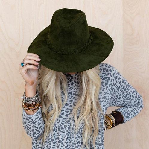 Baron Braided Brim Hat