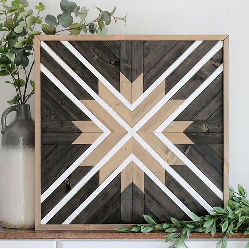 Rhys. Wood Mosaic