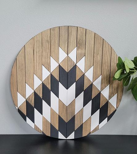 Seabreeze. Wood Mosaic