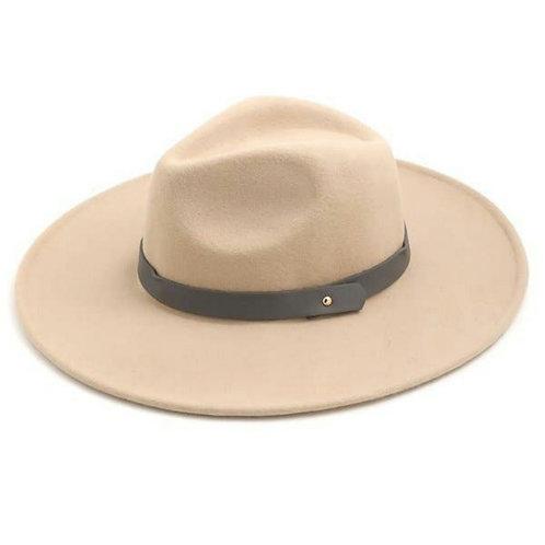Flat Brim Fashion Fedora Hat