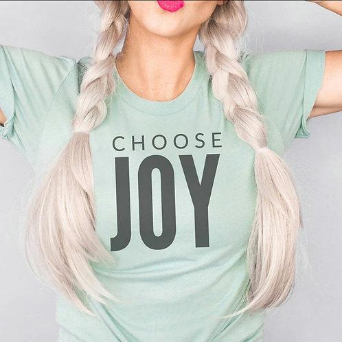 Choose Joy Graphic Tee