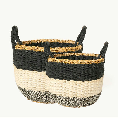 Ula Striped Basket
