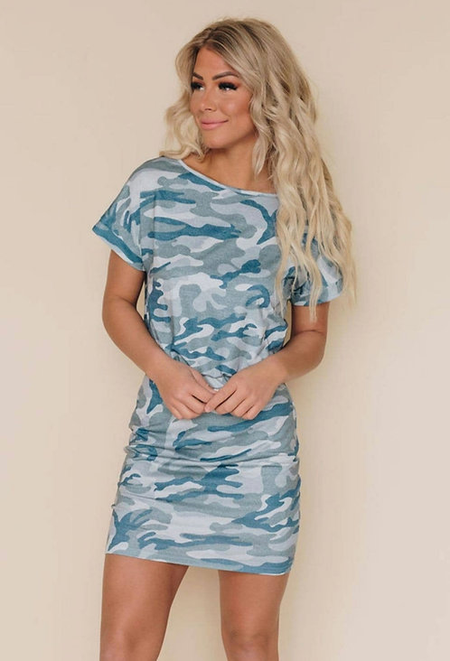 Nashville Camo Mini Dress