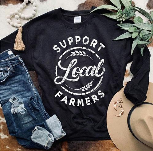 Support Local Farmers Sweatshirt