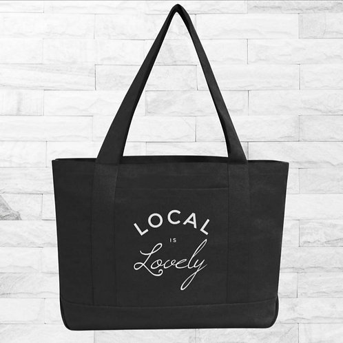 Local is Lovely Boat Tote