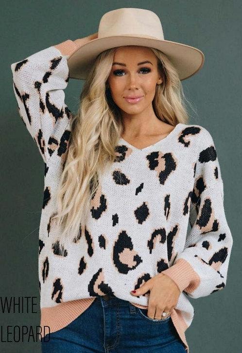 Alexis Leopard Sweater
