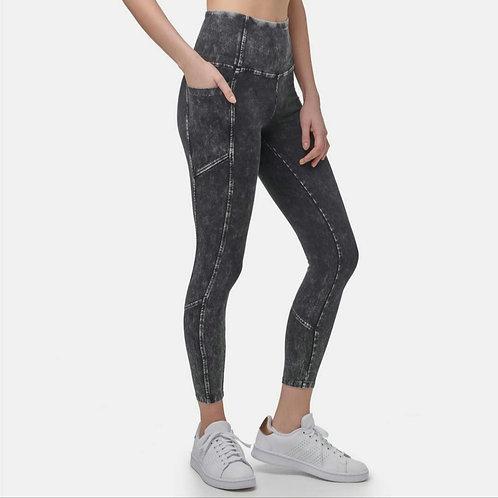 Mineral Wash 7/8 High Rise Legging with Side Pocket