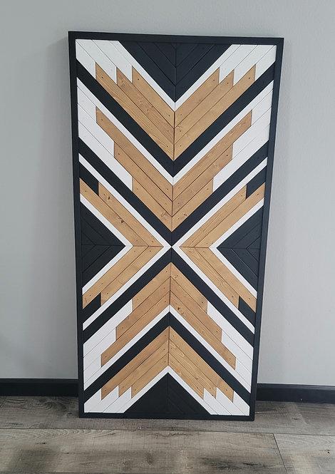 Mariah. Wood Mosaic