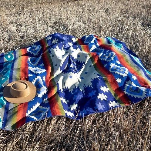 Andean Alpaca Wool Blanket