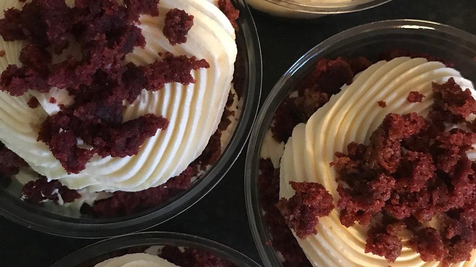 Red Velvet Cake Pot