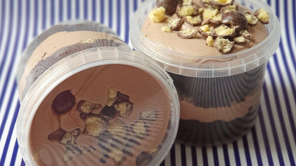 Malt Chocolate Cake Pot