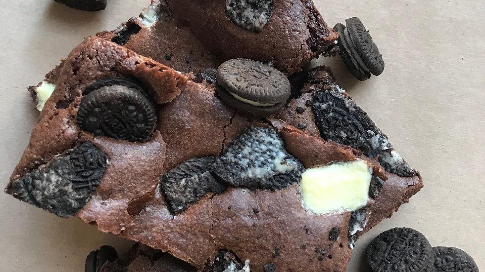 Cookies and Creme Brownie