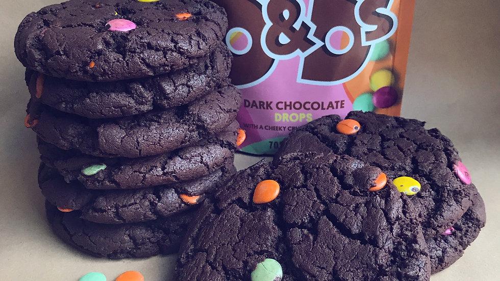 Rainbow Chocolate Cookie