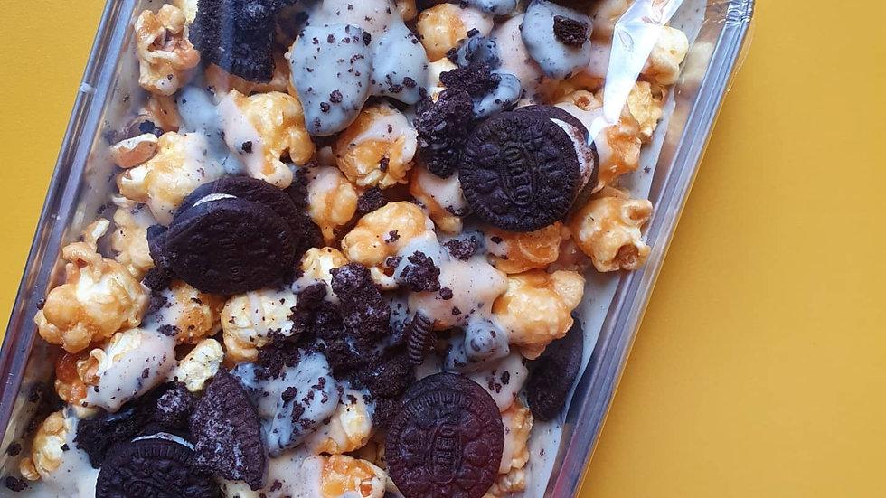 Cookies & Cream Popcorn Slab