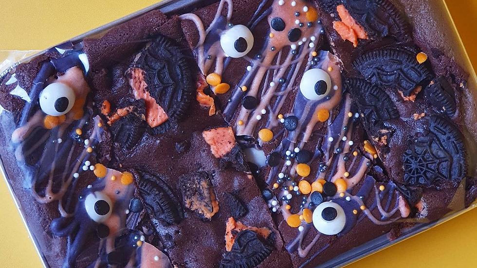 Halloween Mixed Brownie Tray