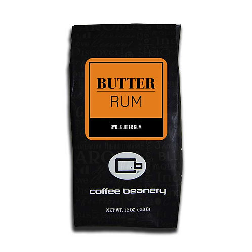 Butter Rum Flavored Coffee | 12oz