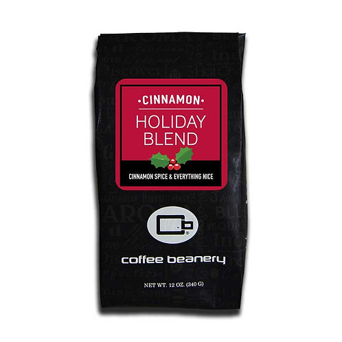 Cinnamon Holiday Blend Flavored Coffee | 12oz