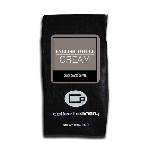 English Toffee and Cream Flavored Coffee | 12oz