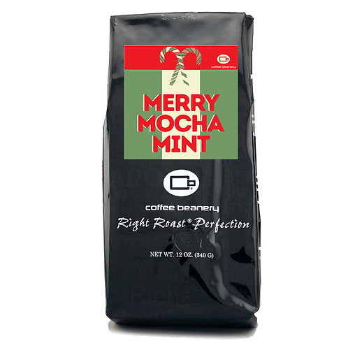Merry Mocha Mint Flavored Coffee | 12oz
