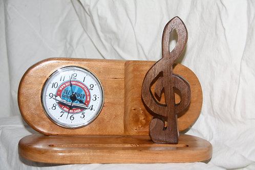 Desk Clock 1 / Walnut