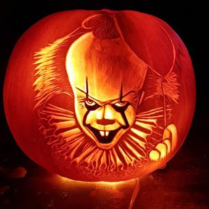 Pennywise pumpkin carving.jpg