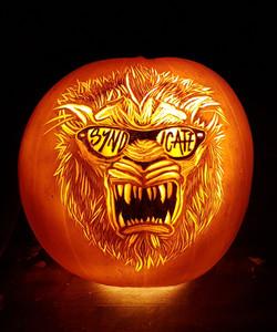 Syndicate logo pumpkin carvingv2