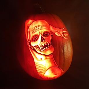 Just Chillin' Pumpkin Carving