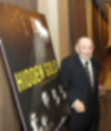 David Gold with Hidden Gold poster