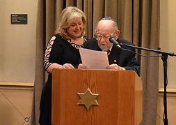 Ella Burakowski & her Uncle David Gold