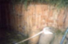 Slats hiding hidden enclosure