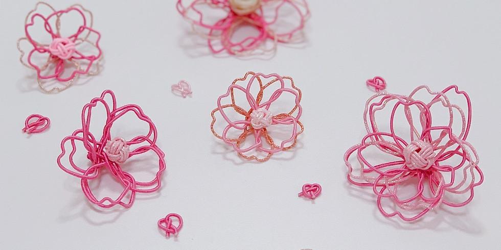 3月10日(日) 水引ワークショップ 桜のブローチ