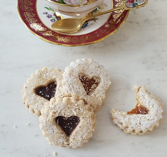 Valentines Day Tea Cookies