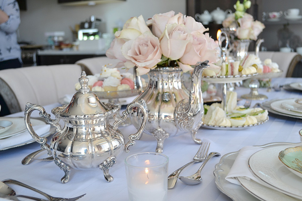 Silverware and Other Tea Accessories