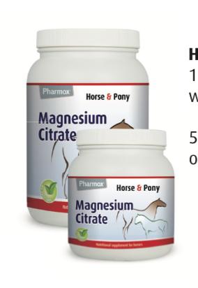 Hevonen ja poni magnesium