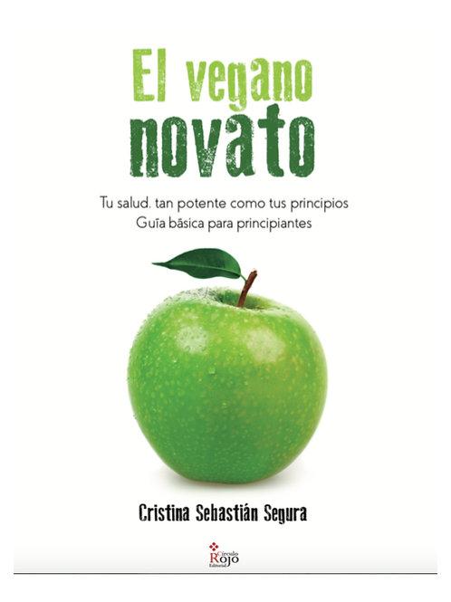 Mi libro, El Vegano Novato, en formato digital