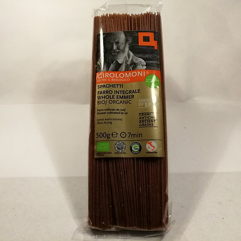 Esparguete integral Girolomoni