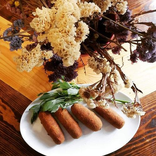 Croquete de carne galega Bio