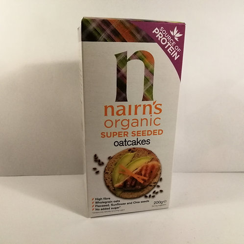 Nairn's Bolachas de Aveia Super Seeds