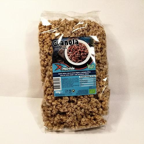 Granola rico em fibra