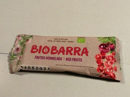 Biobarra frutos vermelhos 30g