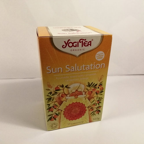 YogiTea Sun's Salutation