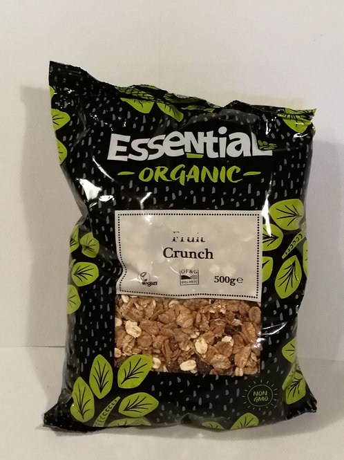 Crunch fruta 500g Essential