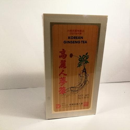 Ginseng Chá Coreano