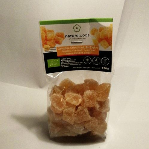 Gengibre cristalizado 150g BIO NATUREFOODS