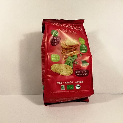 Mini Cracker de Milho e Tomate 50g