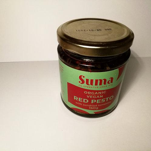 Pesto vermelho Suma 160g