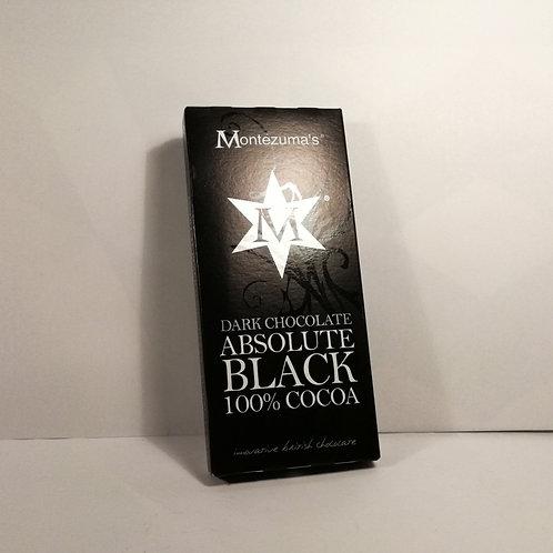 Montezuma's Chocolate 100% Negro