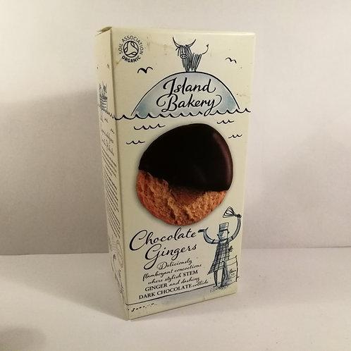 Bolacha de Gengibre e Chocolate Island Bakery