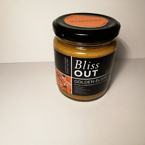 Manteiga de Amendoim Golden Elixir Bliss out 225g